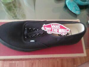 "Vans ""Off The Wall"" Men Size 10.5  Athletic Shoes - Black -"