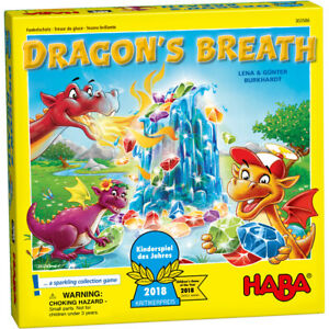 HABA 303586 Dragon's Breath (Children's Game of the Year 2018)