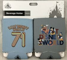 Disney Parks WDW Beverage Holder Set Koozie 71 Fab 5 Mickey Mouse - NEW
