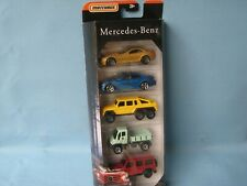 Matchbox Mercedes-Benz 5 Pack with 280GE G Wagon Red Body Rare