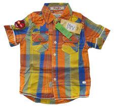 Karierte Kurzarm Jungen-T-Shirts, - Polos & -Hemden aus 100% Baumwolle