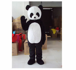 Professional Panda Bear Mascot Costume Fancy Dress Adult Size Cosplay Party gift