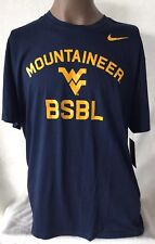 NIKE Dri-Fit West Virginia Mountaineer Baseball Tee Men s XL New With Tags 12c94dee1