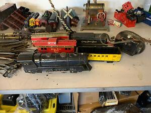 MARX TIN TRAIN SET 1950 O SCALE