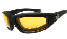 Extreme Sports Chopper Wind Resistant Yellow Night Vision Motorcycle Sunglasses