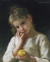 """perfect 24x36 oil painting handpainted on canvas """"a lovely girl""""@N12782"""