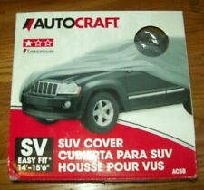 AutoCraft SUV Cover. (Part# AC58) Gray. New in box.