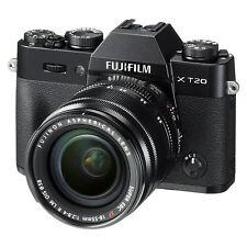 Fujifilm X-T20 Mirrorless Digital Camera w/ XF18-55mm F2.8-4.0 R LM OIS Lens Kit