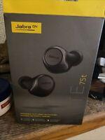 Jabra Elite Active 75t Headphones In Excellent Condition - Titanium Black