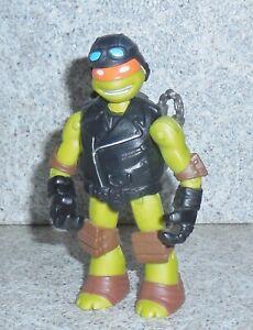Teenaged Mutant Tortues Ninja Chaud Tige Racer Michel-Ange Nickelodeon 2014