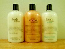 Set of 3 Philosophy Shampoo & Shower Gel (16oz) Brand New & Sealed (Your Choice)