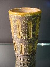 Retro Raymor Alvino Bagni Bitossi Mid Century Italian Art Pottery Vase Eames