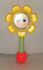 VINTAGE 1973 FISHER PRICE BABY FLOWER RATTLE #424