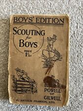 More details for scouting for boys by lord baden-powell 1937