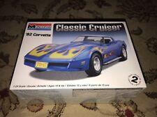New 1/24 Monogram 1982 CORVETTE CLASSIC CRUISER Sealed Model Car Kit 0885