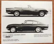 Aston Martin DBS LAGONDA DB6 brochure DB 5 6 007 volunte
