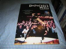 DEPECHE MODE-(live in milan)-1 POSTER-11X17-NMINT-RARE