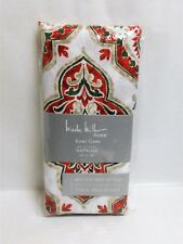 Nicole Miller Christmas Napkins Set of 4 Easy Care Water & Stain Resistant