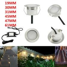 19/30/31/45/61mm Low Voltage Driveway Terrace LED Deck Stair Step Soffit Lights