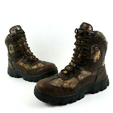 Wolverine Men's Hunting Boots Size 11.5 Buck Tracker Insulated Waterproof Camo
