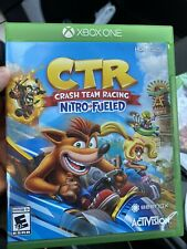 Crash Team Racing Nitro-Fueled - (Microsoft Xbox One,2019) Ships Next Day!