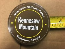 """AMERICA'S NATIONAL PARK KENNESAW MOUNTAIN 3 1/4"""" CIRCLE STICKER"""