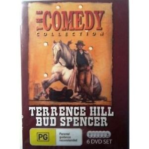 Terrence Hill Bud Spencer The Comedy Collection DVD 6 disc New Australia