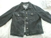 Trendy Jeansjacke in black * leichter Used Look * von APART * Gr. 38 * NEU