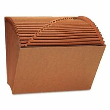 UNIVERSAL OFFICE PRODUCTS 13910 Leather-like Expanding File, Open Top, 12 X 10,