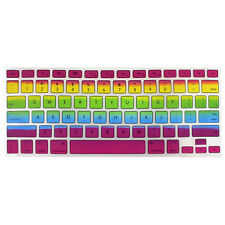 Rainbow Keyboard Case Cover Protector for Apple MacBook Pro Air 13.3