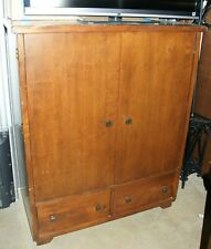 Pottery Barn Media Cabinet Armoire TV