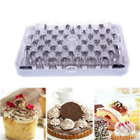 52 pcs Stainless Steel Baking Piping icing nozzle set