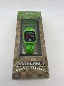 Minecraft LED Touchscreen Wrist Watch