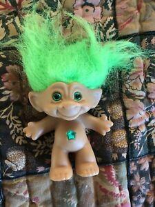 Ace Novelty Green Jewel belly troll