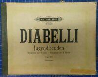 Diabelli Jugendfreuden Opus 163 Edition Peters Nr.2440a Klavier-Noten B-25054