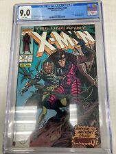 Marvel Comics Uncanny XMen 266 CGC Graded 9.0