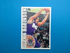 1995-96 Panini NBA Basketball Sticker N.126 Glenn Robinson Milwaukee Bucks