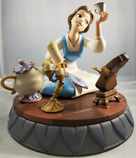Beauty And The Beast Markrita Belle Figurine 10th Year Figurine *Like New*