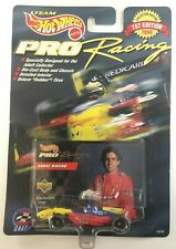 1998 HOT WHEELS PRO RACING ANDRE RIBEIRO LCI RUBBER TIRES DELUXE CART dc47