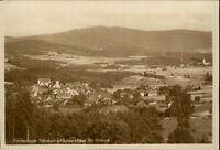 Tiefenbach Bay. Ostmark Postkarte ~1920/30 Panorama mit Schwarzkoppe ungelaufen
