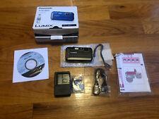Panasonic LUMIX Model DMC-TS30-Black-Waterproof Digital Camera-New-Open Box