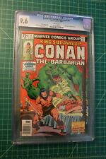 CONAN THE BARBARIAN KING-SIZE ANNUAL #5 (1979) CGC GRADED AT 9.6 WHITE PAGES