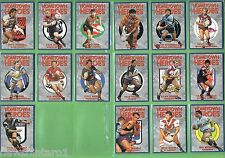 #T12.  1994  HOMETOWN  HEROES RUGBY LEAGUE  CARD SET