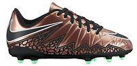 Nike Jr Hypervenom Phelon II FG Soccer Cleats Bronze Black 744943-903 Boys 5y