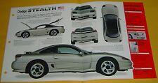 1992 Dodge Stealth RT Turbo 181ci V6 300 hp MPEFI IMP Info/Specs/photo 15x9