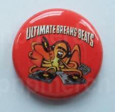 ULTIMATE BREAKS & BEATS New 25mm pin button badge Hip Hop DJ