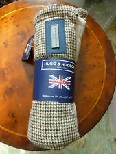 More details for brand new hugo and hudson brown tweed rug