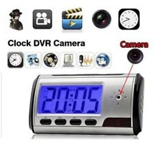 Sofisticado Reloj Con Camara Espia Y Detector De Movimiento Secreta Escondida