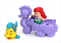 Fisher-Price Little People Disney The Little Mermaid Ariel Flounder Figures Toys