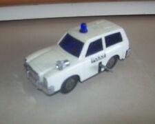 Kanto Japan police car wagon plastic windup noise 6 inch  1970s
